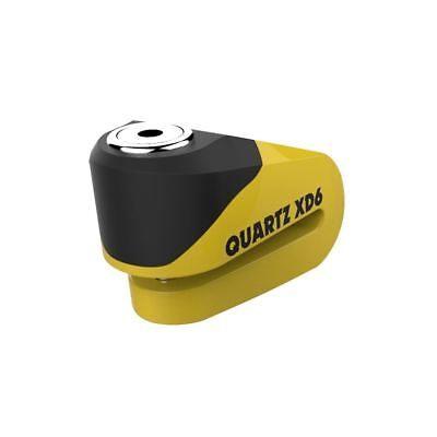 Oxford LK265 Motorcycle Bike Quartz XD6 Disc Lock Attack Tested - Yellow/Black