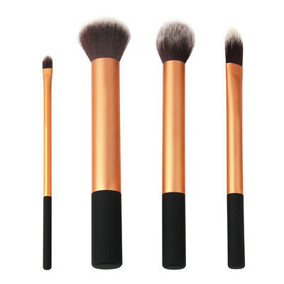 New Set Real Techniques Makeup Brushes Brush Set Core Collection 4 Brushes