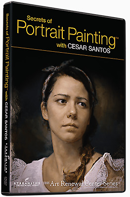 Cesar Santos : Secrets of Portrait Painting - An Instructional Art DVD