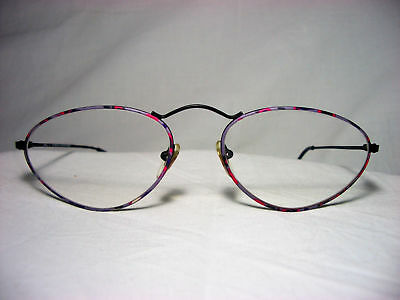 c8752027b0ad1 GMC by Trend Titanium round oval cat s eye women s eyeglasses frames vintage