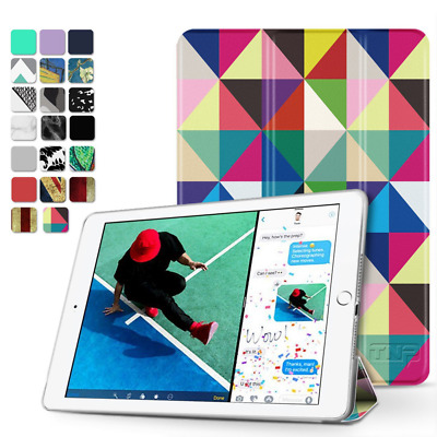 New iPad 9.7 inch Case Trifold Slim Shell Stand Cover&Auto Sleep Wake Function