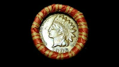 Crimped Shotgun Roll w/ 1906 & 1907 Indian Head Cents Showing!