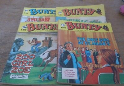 4 Bunty Picture Library 1980S