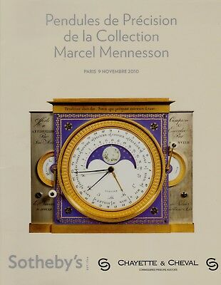 Precision Clocks Marcel Mennesson Collection Auction Catalogue