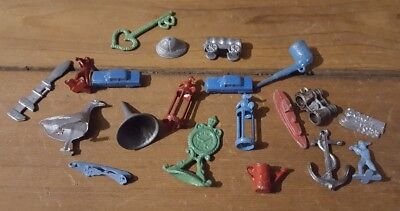 Cracker Jack Metal Toy Prize Lot of 20 Misc.