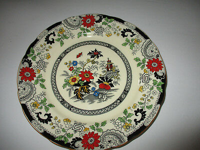 "Antique Coalport Kings Ware Canton Plate--9 1/4"" Dinner Plate- Made in England"