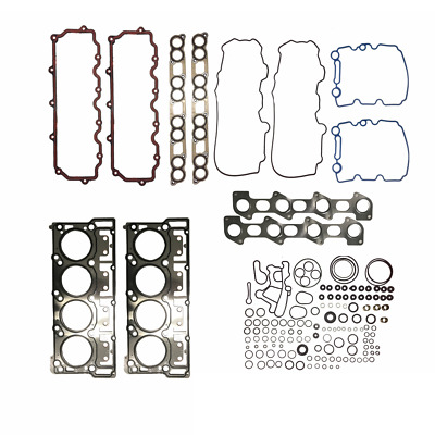 New Ford 6.0 6.0L Powerstroke Diesel Head Gasket Set 18mm
