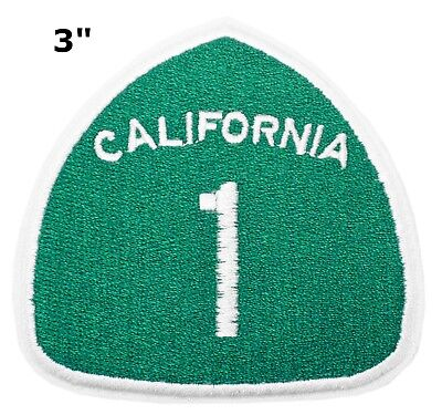 "Souvenir Patch ""CALIFORNIA 1"" State Tourism National Park Iron-On Appliques"