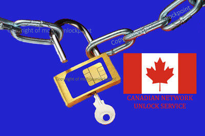 Unlock Code Sony Xperia Z Z1 Z2 Z3 M J T3 Locked to BELL / VIRGIN / Canada