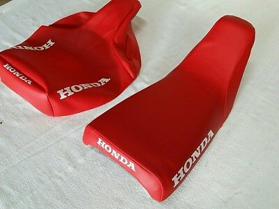 HONDA ZB50 SEAT COVER 1988 MODEL SEAT COVER RED H302