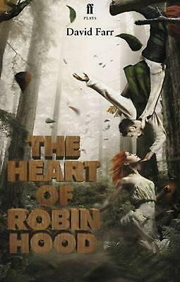 The Heart of Robin Hood by David Farr (English) Paperback Book Free Shipping!