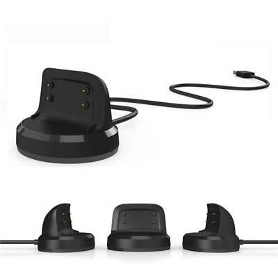 Charging Cradle Charger Dock Station Adapter For Samsung Smart Watch Gear Fit ZH