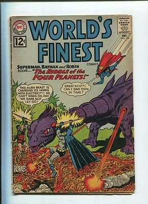 BATMAN SUPERMAN World's Finest Comics #130 Dec 1962 DC GD/VG
