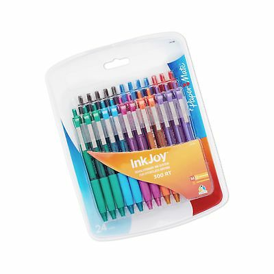 Paper Mate InkJoy 300RT Retractable Ballpoint Pen, Medium Point, Assorted Col...