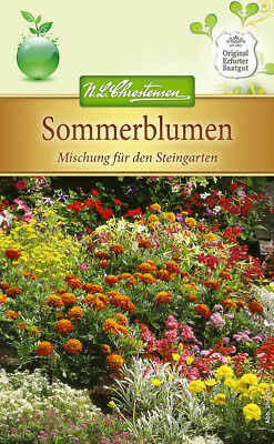 sommerblumen-mischung for Stone Garden, Once Blooming, approx. 100 Seeds 5242
