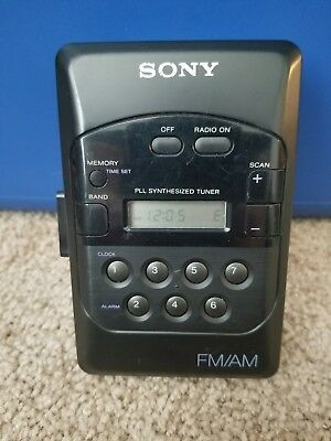 Sony Walkman WM-F2031 AM/FM Radio Cassette Tape Player Portable Vintage