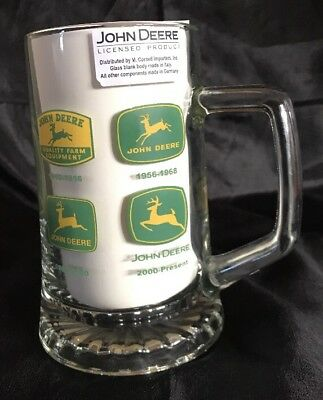 John Deere Licensed Beer Mug By M. Cornell Importers - Shows Different Years!