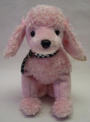 7746343a54d TY BEANIE BABY BRIGITTE THE PINK POODLE DOG 7