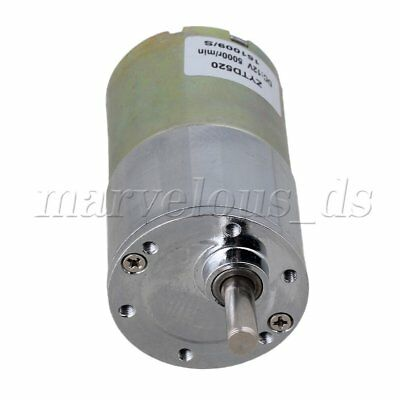 High Torque 12V DC 30 RPM Gear-Box Electric Motor Replacement 5000r/min
