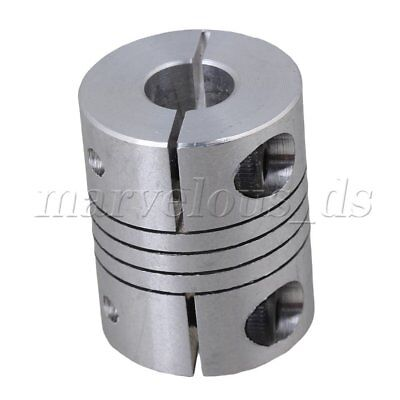 8mm x 8mm CNC Stepper Motor Shaft Coupler Flexible Coupling Motor Connector