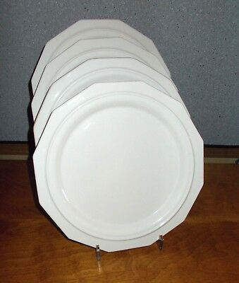 Pfaltzgraff Heritage White Large Dinner Plates (4) 10-7/8  Old : large dinner plates cheap - pezcame.com