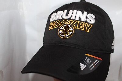 8e03f0fb7ab Boston Bruins adidas NHL Basic Pro Authentic Cap
