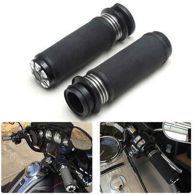"1"" 25mm Lenkergriffe Bersten Lenker Griffe für Harley Softail Fat Boy Road King"