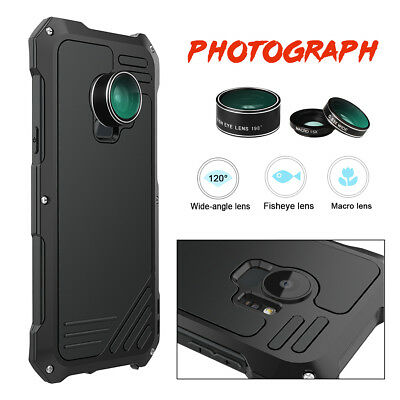 For Samsung Galaxy S9/S9+ Plus Wide Angle Macro Fisheye Camera Lens  Metal Case