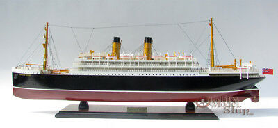 Empress of Ireland Ocean Liner Wooden Model Ship Fully Assembled Boat New