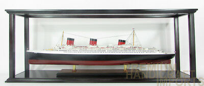 "Ship Display Case for Cruise Ships 35"" - 37"" with Acrylic"