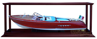 "Ship Display Case for Speed Boats 26"" - 28"" with Acrylic"