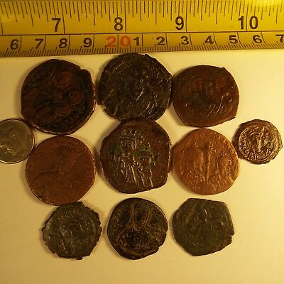59-1 Mixed Lot Of Byzantine  Rare Ancient Coins