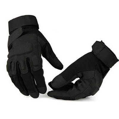Tactical Gloves Mens Army Military Full Finger Outdoor Hunting Driving Racing UK