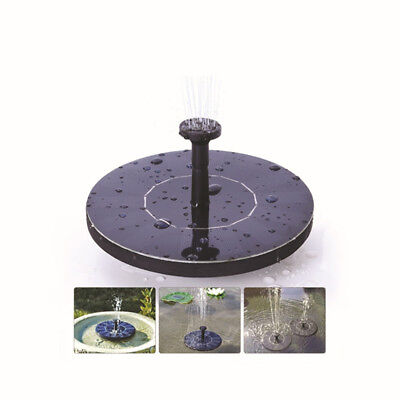 Solar Panel Power Water Fountain Pump Kit Pool Garden Pond Watering Submersible