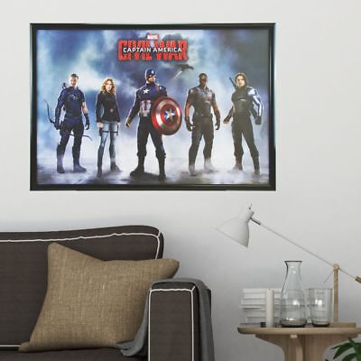 "30"" x 40"" inch quad UK cinema size movie poster snap frame in silver or black"