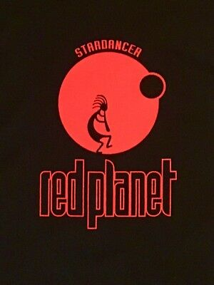 Red Planet T-Shirt Underground Resistance Mad Mike Detroit House Techno Acid