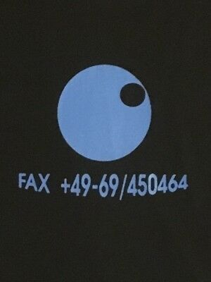 Fax +49-69/450464 T-Shirt Pete Namlook Air Richie Hawtin Anthony Rother Silence