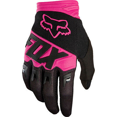 FOX DIRTPAW RACE MX Motocross Cross DH Downhill MTB BMX Handschuhe 2018 pink