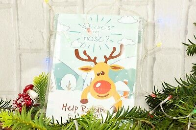 Happium - Party Christmas Game Pin the Nose on the Reindeer X 24 noses