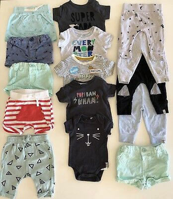 Cotton On Baby Clothes Tops Tights Shorts Size 000 & 00