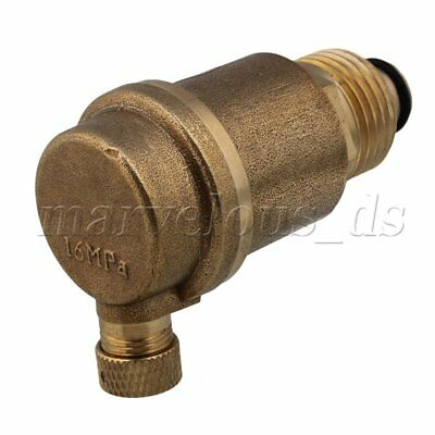 "1/2"" Brass Automatic Air Vent Valve High Temperature Resistance 16MPa"