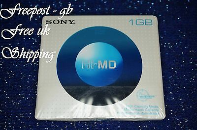 Sony Hi-Md 1Gb Blank Minidisc Up To 34 Hours Recording Capacity - Hmd1Ga - New