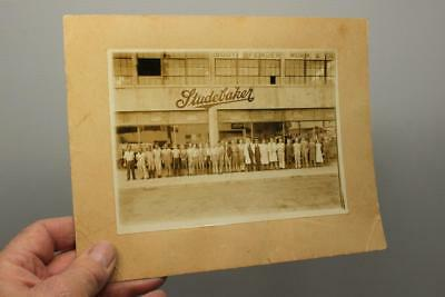 RARE Vintage STUDEBAKER Factory PHOTOGRAPH 27 Workers Body Fender Old Photo