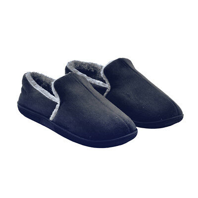 Aussie Dearhome MEN HOUSE SHOES INDOOR SLIPPER COMFORT PLUSH HOME MOCCASIN