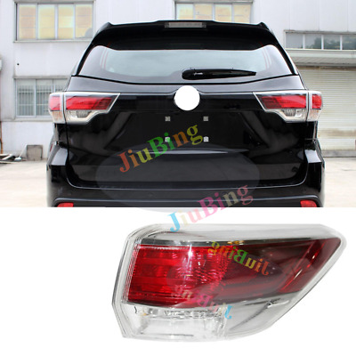 For Toyota Highlander 2014-2016 Rear Right Outer Tail Light Brake Lamp Assembly