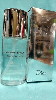 DIOR Backstage Brushes Makeup Brush Cleanser Antibacterial Cleaner Spray 5oz NEW