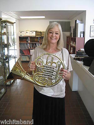 New and Perfect Paxman Model 20LYD  Yellow Brass, Detachable LARGE bell!