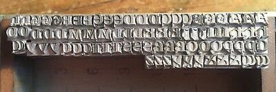 12pt Lombardic Capitals Letterpress Printing Type