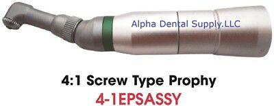 Johnson-Promident Dental E-Type Prophy Contra Angle Assembly 4:1 Screw Type