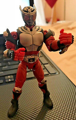 Figma Vintage well preserve Kamen Rider Dragon Knight Action Figure